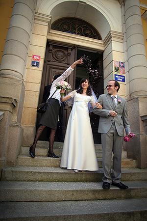 profesionální svatební fotografie